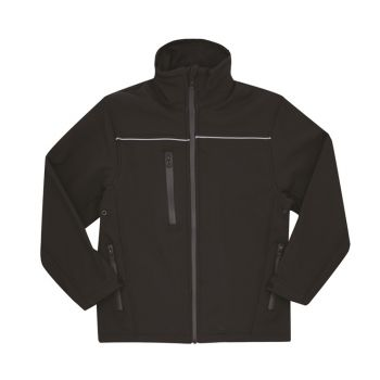 Soft Shell Jacket with Reflective