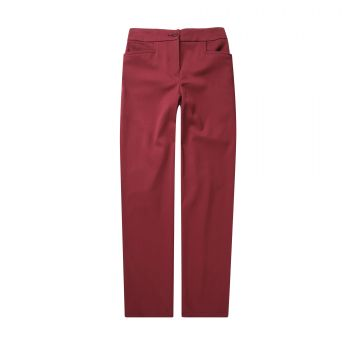 Girls Tailored Elastic Back Pants