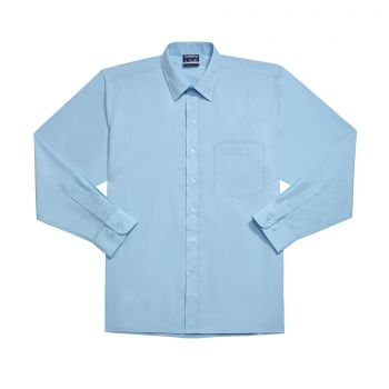 Boys Long Sleeve Basic School Shirt