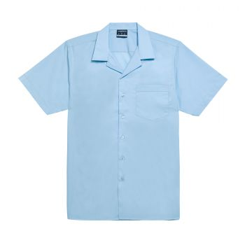 Boys Short Sleeve Open Neck School Shirt