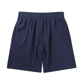 Cotton-Back Micromesh Shorts