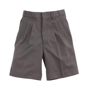 Boys Extendable Gaberdine School Shorts