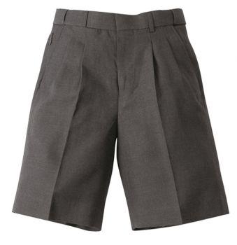 Boys Melange Extendable School Shorts