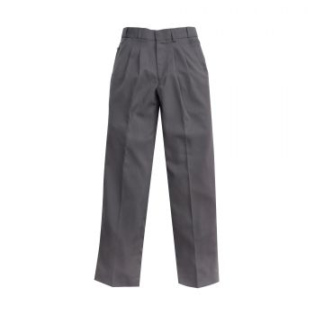 Boys Gaberdine Extendable School Pants