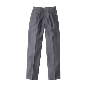 Boys Melange Extendable School Pants