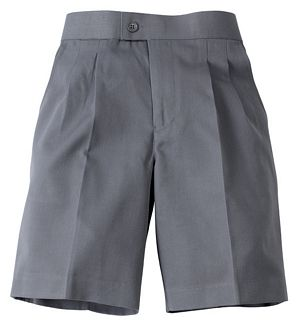 Boys Elastic Back School Shorts